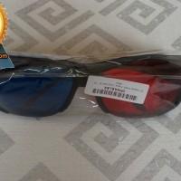 3D Glasses Plastic Frame / Kacamata 3D - H2