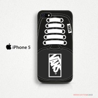 Vans Logo Black iPhone 5 Custom Hard Case