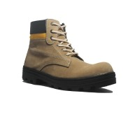 Cut Engineer Safety Boots Helix Iron Suede Leather