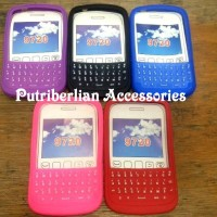 Blackberry Bb Samoa 9720 Soft Case Silicon Full Keypad Color Doff