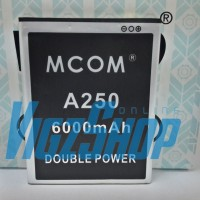 Baterai Battery Mito A250 6000mAh MCOM Double Power