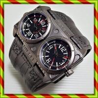 harga DIESEL OWL DOUBLETIME KULIT HITAM  | Jam tangan Rolex Swiss Army Tokopedia.com