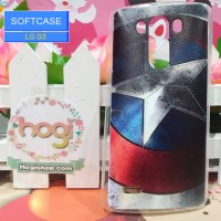 LG G3 - Softcase Custom Case Softclear Phone Case - Captain BS-06