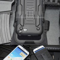 harga High Impact Armor Cover Casing Case Belt Holster Samsung Galaxy Note 2 Tokopedia.com