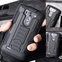 High Impact Armor Cover Casing Case Keren + Belt Holster Lg G3 Beat