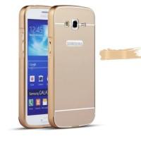 Metal Bumper Slide Hard Back Case Casing Cover Samsung Galaxy Grand 2