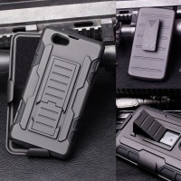 harga High Impact Armor Cover Casing Case Belt Clip Sony Xperia Z1 Compact Tokopedia.com