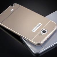 Metal Bumper Slide Hard Back Case Casing Cover Samsung Galaxy Note 2