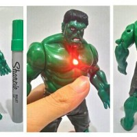 hulk avengers marvel action figures artikulasi