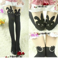 Pantyhose Rabbit Import Taobao Fashion Sock Japan Korean Cosplay