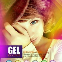 Softlens gel ice cream ( normal only )