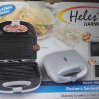 Sandwich Electrik Heles HSM-028-3P / Heles Sandwich Toaster 3in1