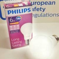 Philips LED bulb 6W bohlam 6watt