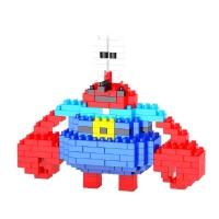 2235 Spongebob Series Mr. Krab Weagle Nanoblok Lego