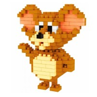 2237 Tom and Jerry Series Jerry Mouse Weagle Nanoblok Lego