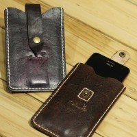 Smartphone Leather case / leather pouch (cover Handphone)Leather Goods