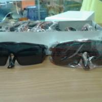 harga kacamata las hitam/kacamata clear kotak Tokopedia.com