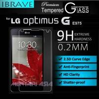Tempered Glass SP for LG Optimus-G E975 : iBrave PREMIUM 0.2mm 2.5D