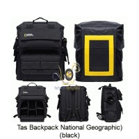 harga Tas Kamera Backpack National Geographic (black) + Free Raincoat Tokopedia.com