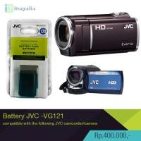 battery / baterai camcorder handycam JVC everio BN-VG121 high Quality
