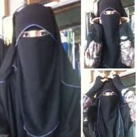 Cadar Poni / Niqab Saraa Niqob Purdah