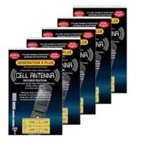 Sticker Penguat Sinyal Antena semua HP GSM/CDMA HT walky talky