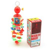merry go round kerincingan bayi putar gantung bunyi musik nursery toys