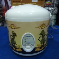 Magic Com Rice Cooker Miyako MCM-508-BTK-WYG - 3 In 1 - Kap 1.8 Liter