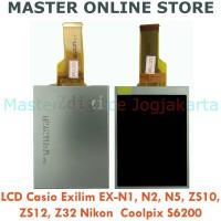 LCD Monitor Kamera Casio Exilim EX-N1 N2 N5 ZS10 ZS12 Z32 Nikon S6200