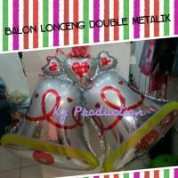 harga Balon Lonceng Double (Hiasan Natal) Tokopedia.com