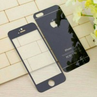 harga Genji Tempered Glass Mirror iPhone 6 Plus / 6s Plus - Black Tokopedia.com