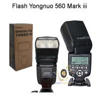 (Paket Hemat) Flash Yongnuo YN-560 Mark III dan 1pcs Yn-560TX Canon