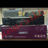 DVD PLAYER KARAOKE GEISLER OK 7500 + Remote Qwerty