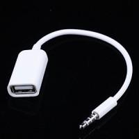 Flashdisk to Aux - USB Female to Aux - Audio to USB Female