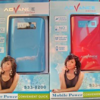 Power Bank Advance S33-8200 8200mAh