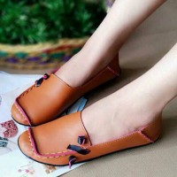 harga Sepatu Sandal Wanita Flatshoes Flat Shoes Teplek Casual Murah Kerja EC Tokopedia.com
