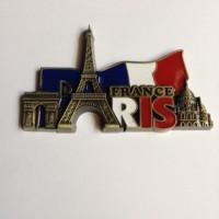 Tempelan Kulkas Paris Magnet Kulkas Besi Bendera Paris Besar
