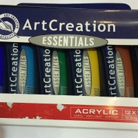 TALENS ART CREATION ACRYLIC COLOUR SET 12 x TUBE 75 ML