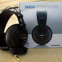 Samson SR850 | Headphone monitoring | Zealmusik Jogja