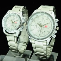 harga jam tangan couple swiss army CR394 ( seiko alba fossil ripcurl rolex ) Tokopedia.com