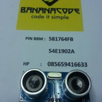Ultrasonic Sensor Module HC-SR04 (Sensor Ultrasonik HC-SR04)