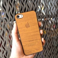 Jual WOOD CASE  MARK II  / Casing - Case Hp / iPhone 4 4s 5 5s 6 Murah