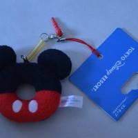 harga gantungan HP mickey, stitch, pooh (pluggy donat) disney ori japan Tokopedia.com