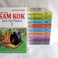 Buku Sam Kok Epos Tiga Negara 1-10 T. Three Kingdom. Lo Kuan Tiong