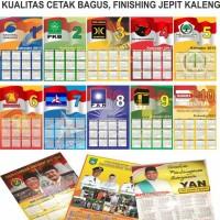 Jual cetak kalender promosi 2016-2017 Murah