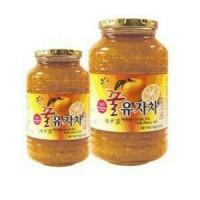 Yujaca Korean Honey Citron Tea Teh Jeruk Madu Asli Korea Jam Sehat 1kg
