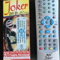 REMOTE DVD MULTI UNIVERSAL JOKER