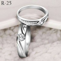Cincin Kawin, Cincin tunangan, pernikahan terbaru lapis emas putih