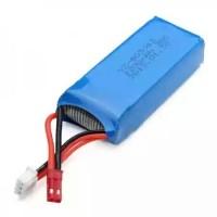 WLtoys V262 V333 V666 Spare Parts Battery 7.4v 1200mAh 30C