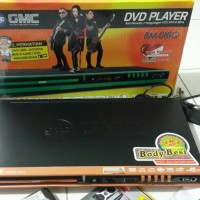 DVD PLAYER BM-081Q GMC (Body Besi)